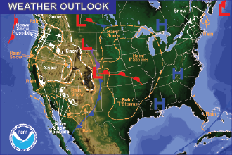 Weather Outlook - November 27, 2016