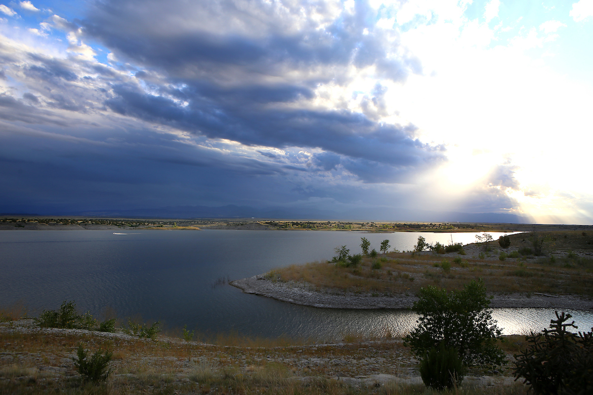 Search underway for missing fisherman in Lake Pueblo