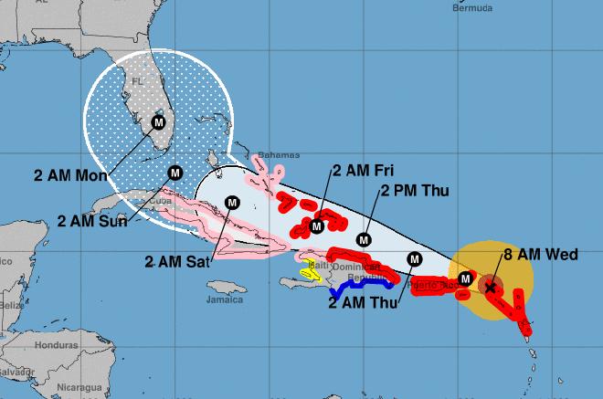 Hurricane Irma Projected To Hit Florida This Weekend Kiowa County