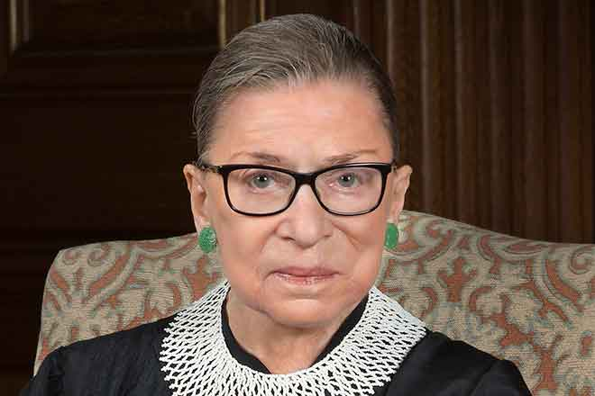 PICT Associate Justice Ruth Bader Ginsburg - public domain