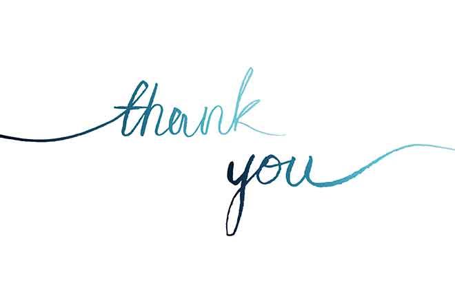 PROMO Miscellaneous - words thank you - iStock