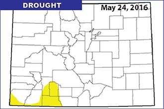 Drought Map - May 24, 2016