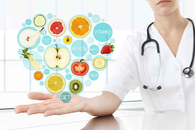 PROMO Health - Diet Heart Fruit Vegetable Medical - iStock - Visivasnc