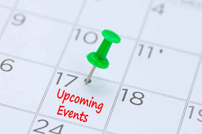 PROMO Miscellaneous - Calendar Upcoming Events Dates Pin - iStock - 3283197d_273