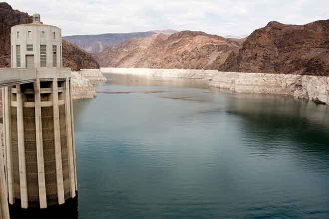 PROMO Miscellaneous - Hoover Dam Colorado River Drought - iStock - ngc4565