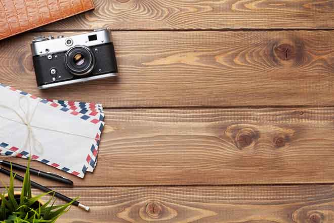 PROMO 660 x 440 Miscellaneous - Tabletop Camera Envelopes Photo - iStock