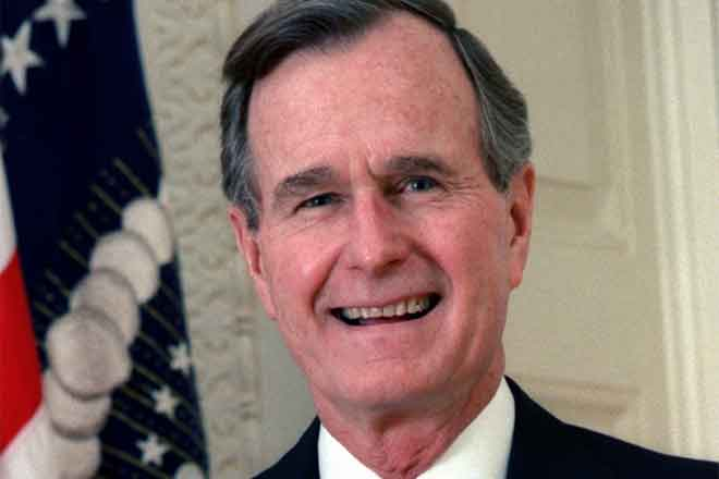 PROMO 64J1 People - George HW Bush - wikimedia - public domain