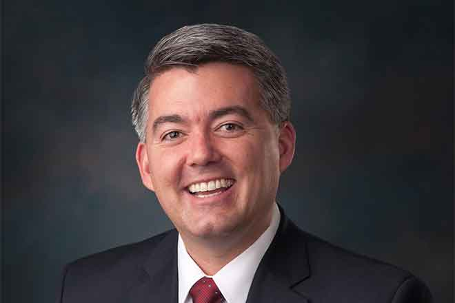 PROMO 64J1 Politician - People Cory Gardner -  official Senate portrait