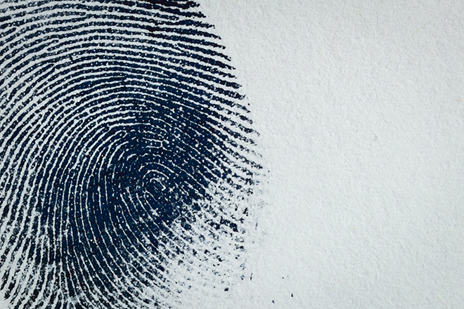 PROMO 660 x 440 Crime - Justice Investigation Fingerprint