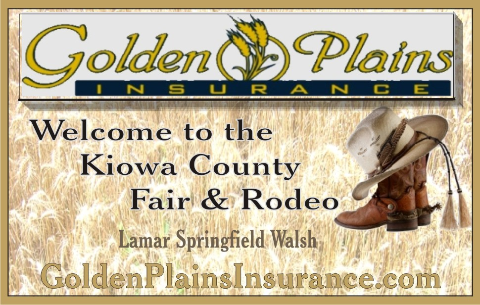 PICT 2019 Kiowa County Fair Sponsor - Golden Plains Insurance Agency