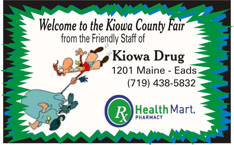 PICT 2019 Kiowa County Fair Sponsor - Kiowa Drug