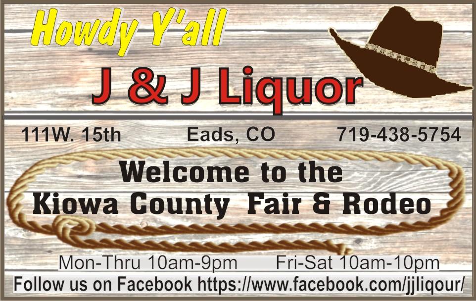 PICT 2019 Kiowa County Fair Sponsor - J&J Liquor