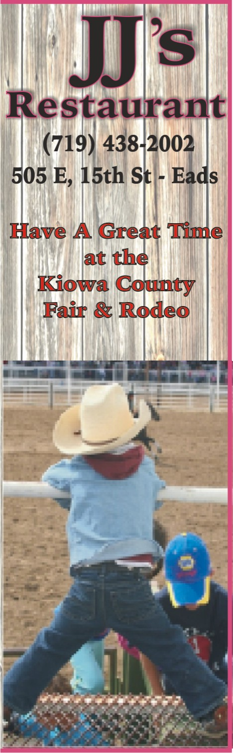 PICT 2019 Kiowa County Fair Sponsor - JJ's Restaurant