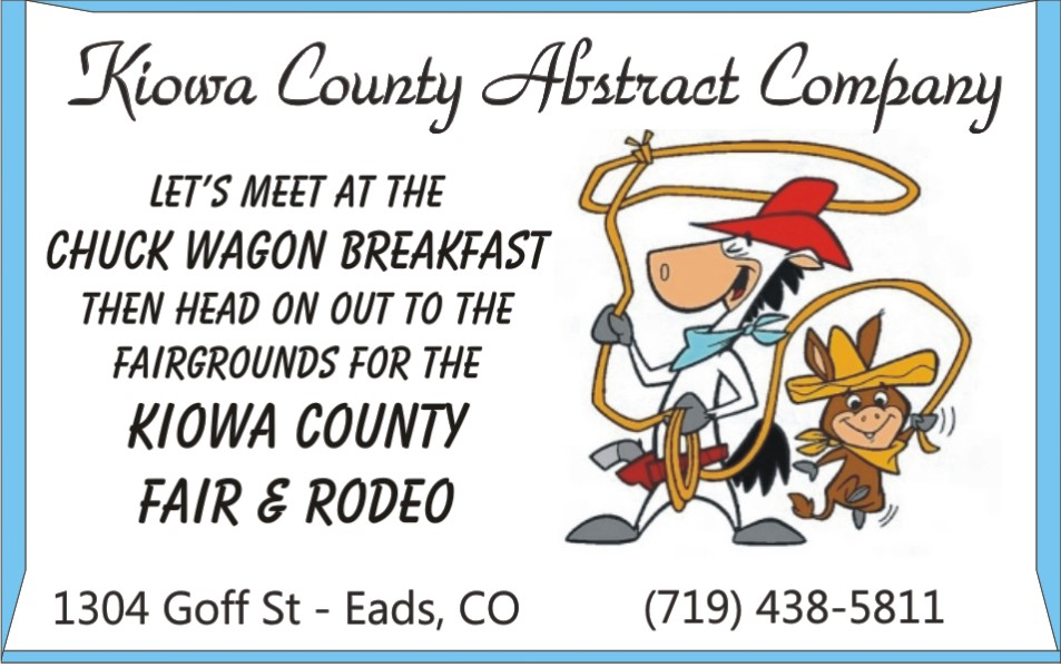 PICT 2019 Kiowa County Fair Sponsor - Kiowa County Abstract