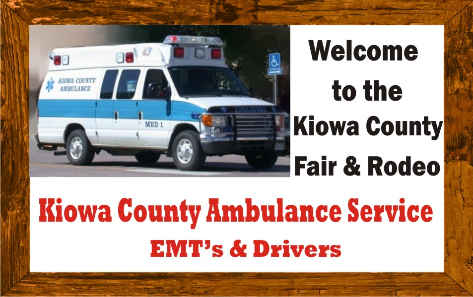 PICT 2019 Kiowa County Fair Sponsor - Kiowa County Ambulance Service