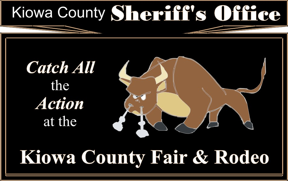 PICT 2019 Kiowa County Fair Sponsor - Kiowa County Sheriff