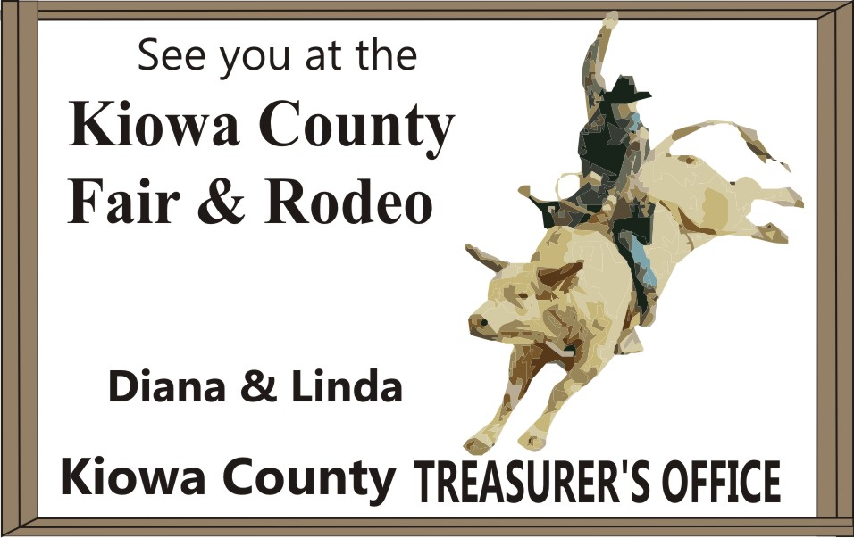 PICT 2019 Kiowa County Fair Sponsor - Kiowa County Treasurer