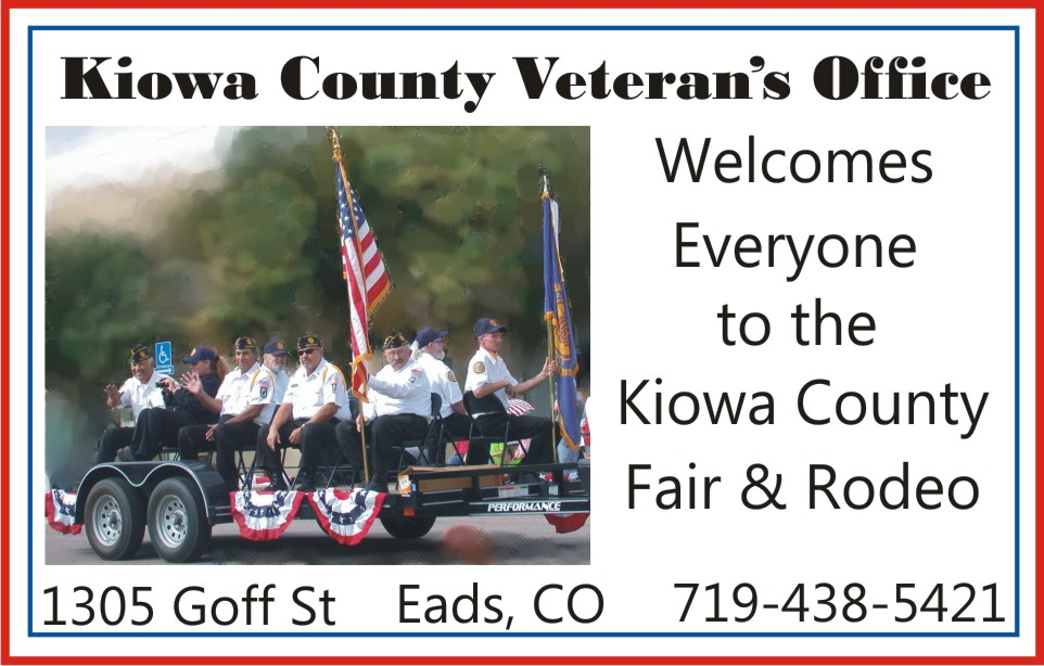 PICT 2019 Kiowa County Fair Sponsor - Kiowa County Veterans Office