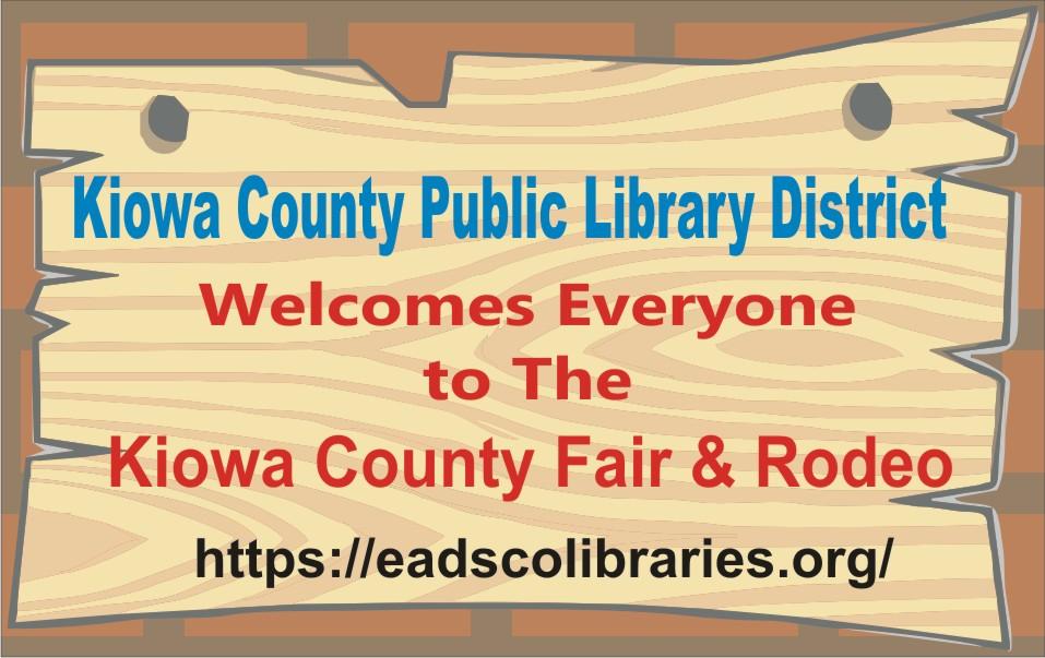 PICT 2019 Kiowa County Fair Sponsor - Kiowa County Public Library