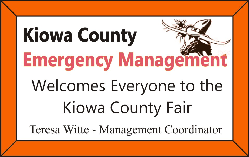PICT 2019 Kiowa County Fair Sponsor - Kiowa County Office of Emergency Management
