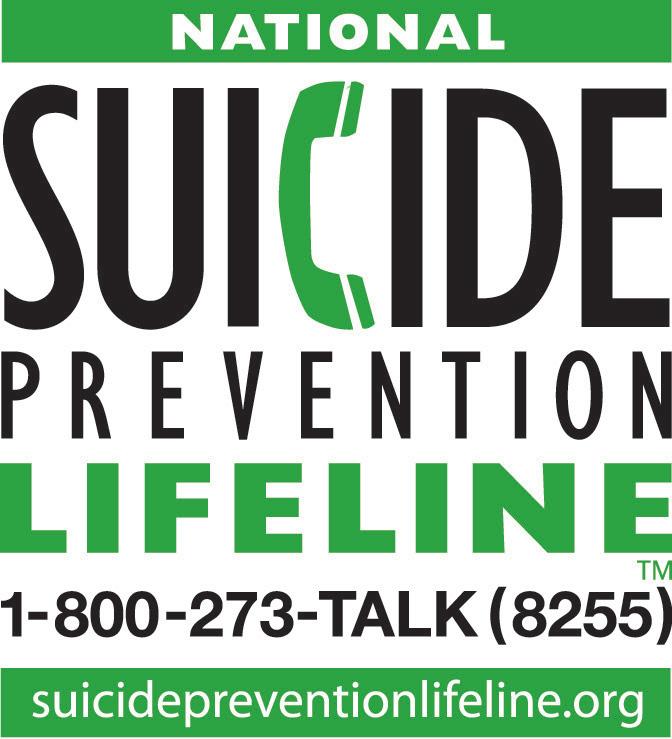 LOGO National Suicide Prevention Lifeline