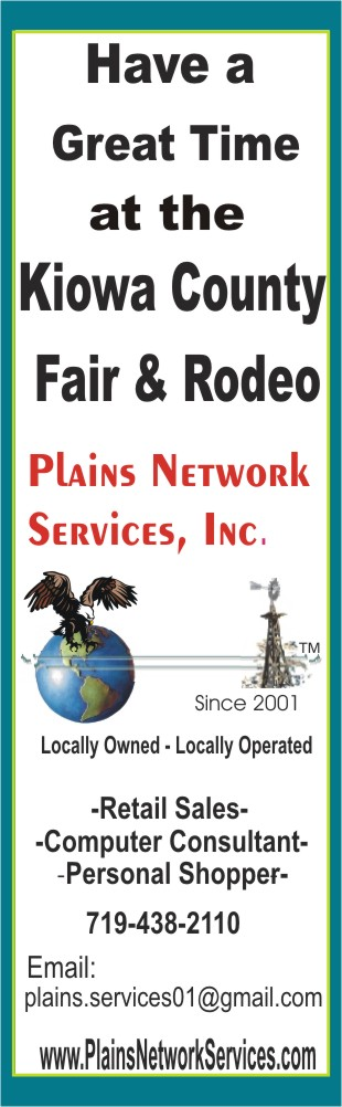 PICT 2019 Kiowa County Fair Sponsor - Plains Network Services