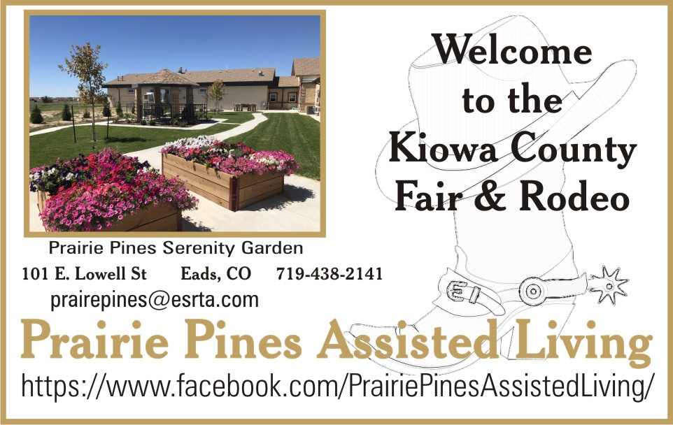 PICT 2019 Kiowa County Fair Sponsor - Prairie Pines Assisted Living Center