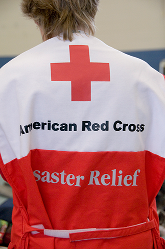 PROMO 330 x 497 Miscellaneous - Red Cross Disaster Worker Texas - FEMA