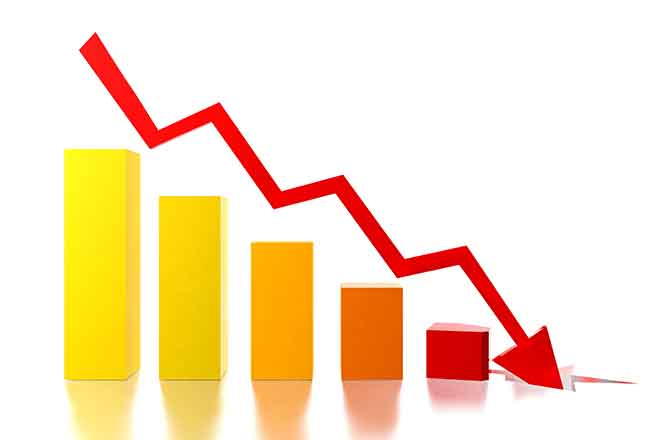 Promo 64J1 Business - Chart Graph Decline Money Economy Stock Market - iStock - Geerati