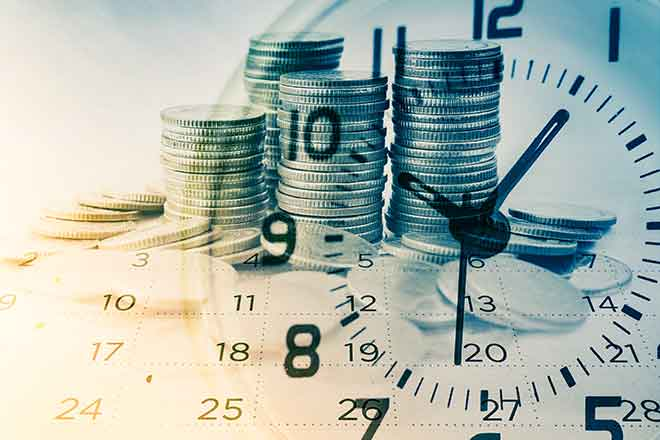 PROMO 64J1 Business - Clock Time Money Coins Calendar - iStock - Ratana21
