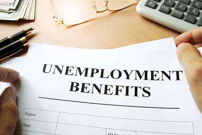 Promo 64J1 Business - Job Search Unemployment Benefits Finance - iStock - designer491