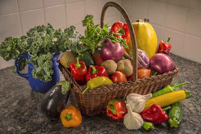 PROMO Food - Vegetables Basket Cooking at Home - Pixabay - skeeze