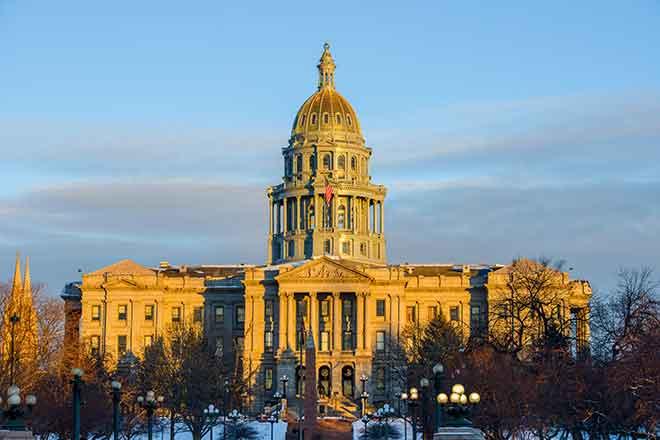 PROMO Government - Colorado Capitol WInter Snow - iStock - SeanXu