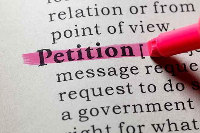 PROMO Government - Petition Signature Words - iStock - Devonyu