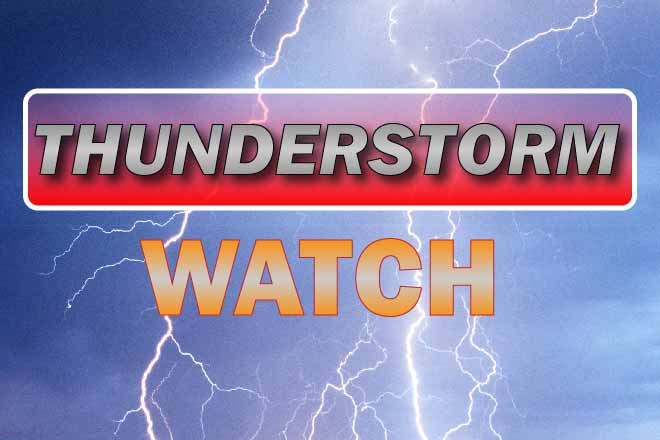 PROMO Graphic - Severe Thunderstorm WATCH - Chris Sorensen