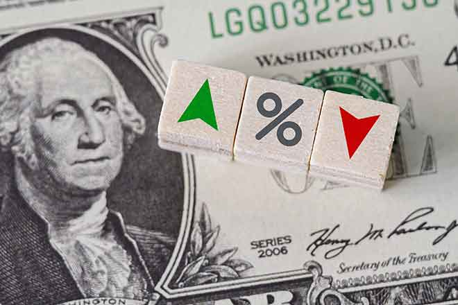 PROMO Money - Finance Dollar Up Down Percent Change - iStock - marchmeena29