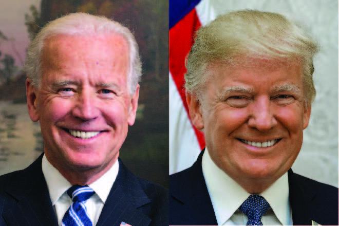 PICT Joe Biden, Donald Trump