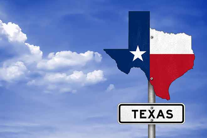 PROMO State - Texas Road Sign - iStock - gguy44