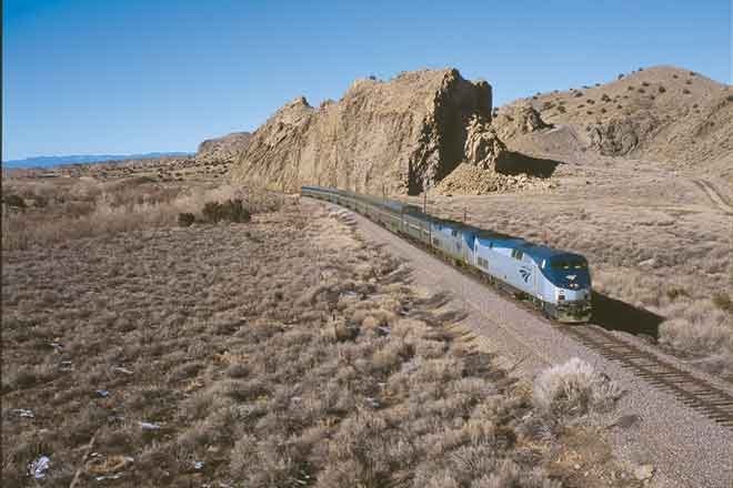 Transportation - Train Amtrak Southwest Chief - Amtrak - Martin Matlack