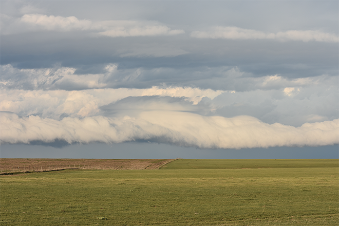 PROMO 660 x 400 Weather - Storm Clouds Field Prarie Cheyenne County Colorado - Chris Sorensen