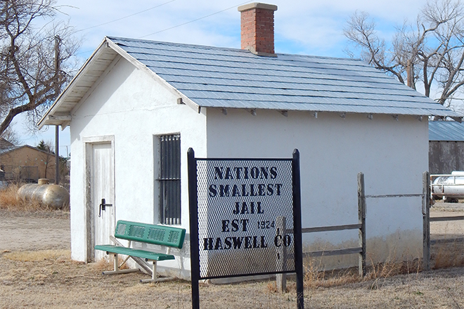 PROMO 660 x 440 Miscellaneous - Haswell Nation's Smallest Jail - Jeanne Sorensen