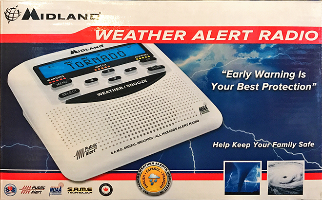 PROMO 660 x 440 Miscellaneous - Midland Weather Radio