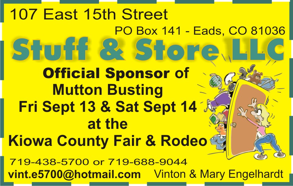 PICT 2019 Kiowa County Fair Sponsor - Stuff and Store