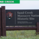 Sand Creek Massacre National Historic Site - Sign