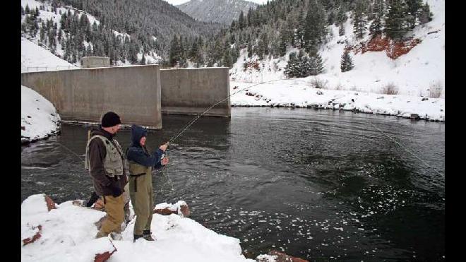 Colorado Fishing Conditions – February 23, 2018