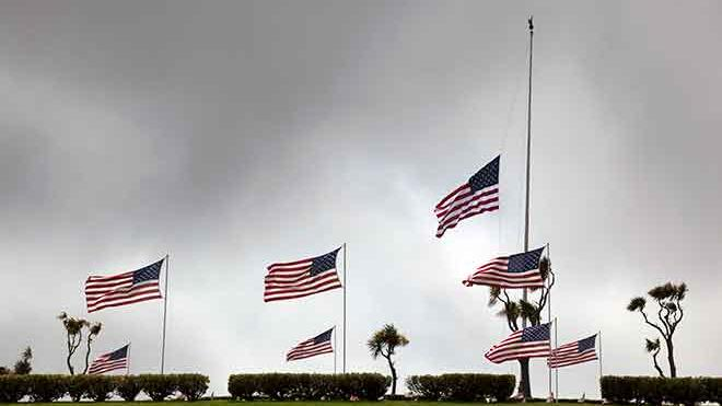 Flags to be lowered for Memorial Day