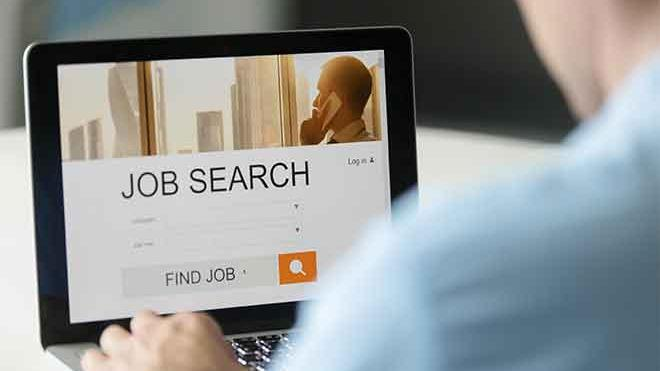 Miscellaneous - Job Search Unemployment Computer - iStock - fizkes