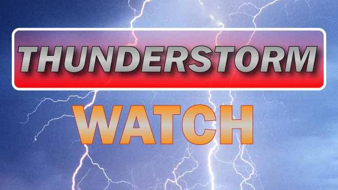 14 northern Colorado counties under a severe thunderstorm watch Saturday – tornadoes possible