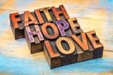 PROMO Faith - Religion Hope Love Words - iStock - marekuliasz