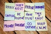 PROMO Health - Stress Wellness Notes Leisure Exercise - iStock - Artur